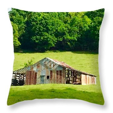 Beautifully Noble Barn Throw Pillow