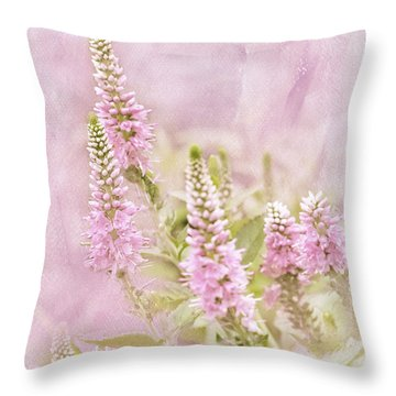 Throw Pillow featuring the photograph Beautilicious by Betty LaRue