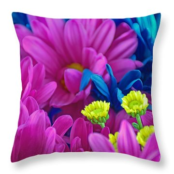 Beauty Among Beauty Throw Pillow