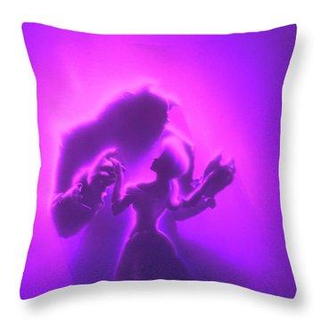 Beauty Beast Throw Pillow