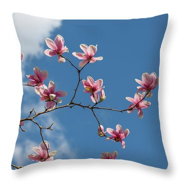 Beauty Blooms Throw Pillow