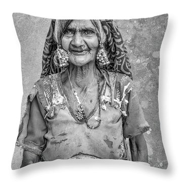 Beauty Before Age. Throw Pillow