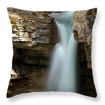 Beauty Creek Stanley Falls Throw Pillow