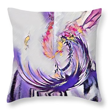 Beauty For Ashes II Throw Pillow