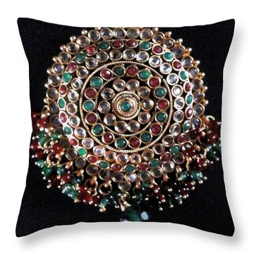 Beauty Throw Pillow by Harsh Malik