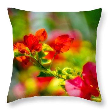 Beauty In A Blur Throw Pillow