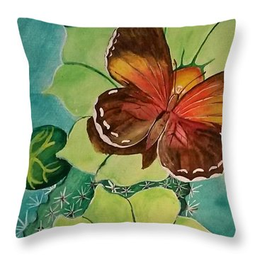Beauty In Butterflies Throw Pillow