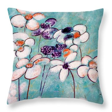 Finding Beauty In Chaos Throw Pillow