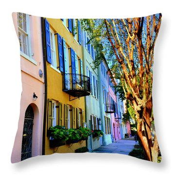 Beauty In Colors Throw Pillow