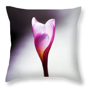 Beauty In Growth Throw Pillow