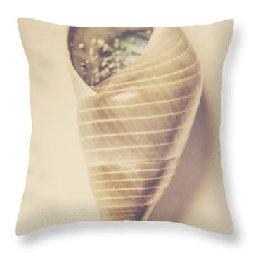 Beauty In Oceanic Symmetry Throw Pillow