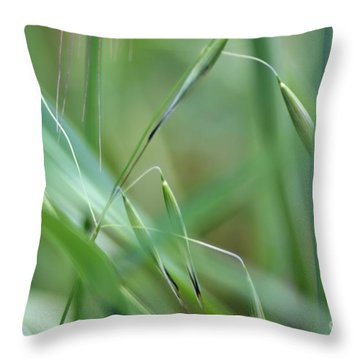 Beauty In Simplicity Throw Pillow by Sheila Ping