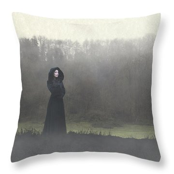Beauty In The Fog Throw Pillow