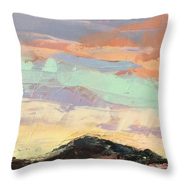 Beauty In The Journey Throw Pillow by Nathan Rhoads