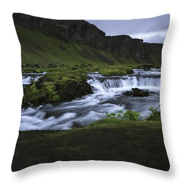 Beauty Is Everywhere In Iceland Throw Pillow
