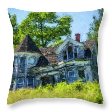 Beauty Lost  Throw Pillow by Ken Morris