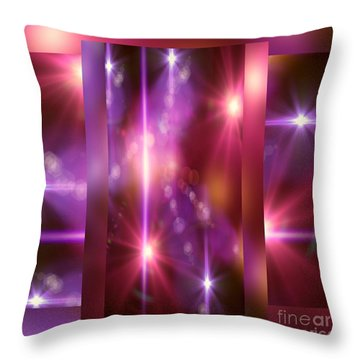 Beauty Of Abbey Throw Pillow