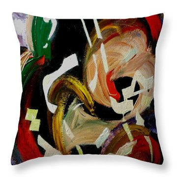 Beauty Of Life Throw Pillow