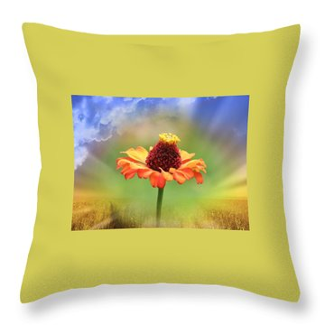Beauty Of Nature Throw Pillow