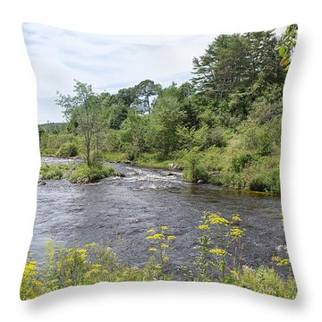 Throw Pillow featuring the photograph Beauty Of Nature by John M Bailey