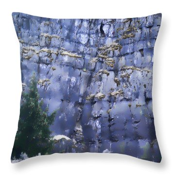 Beauty Of The Gorge Throw Pillow by Dale Stillman