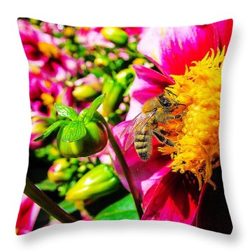 Beauty Of The Nature Throw Pillow
