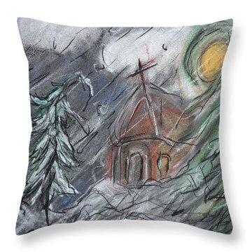 Beauty Of Winter Throw Pillow
