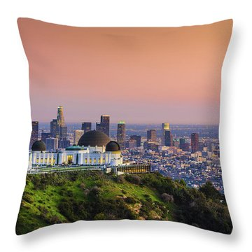 Beauty On The Hill Throw Pillow