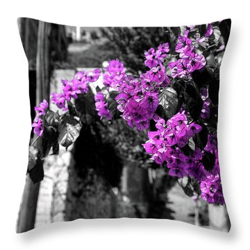 Beauty On The Up Throw Pillow