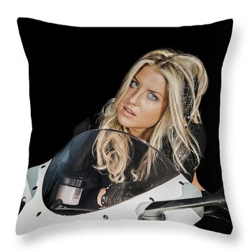 Beauty Throw Pillow