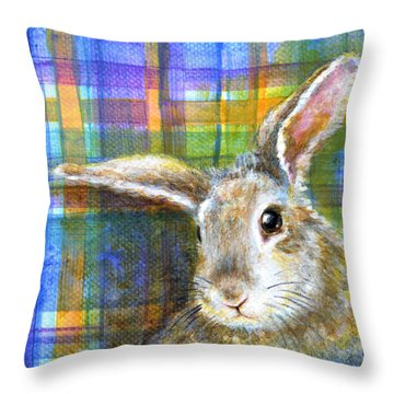 Beauty Throw Pillow by Retta Stephenson