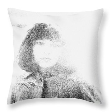 Beauty Throw Pillow by Steven Macanka