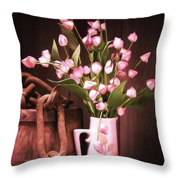 Beauty Unchained Throw Pillow
