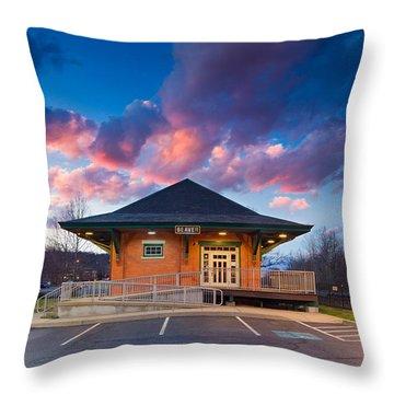 Beaver Area Heritage Museum Throw Pillow