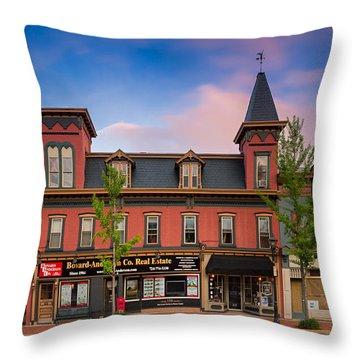 Beaver Pa  Throw Pillow