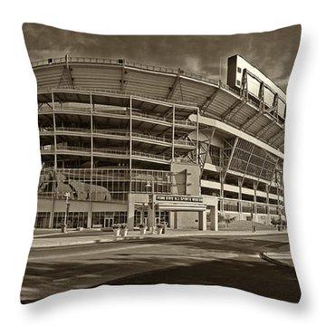 Beaver Stadium Throw Pillow