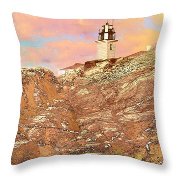 Beavertail Looking Surreal Throw Pillow