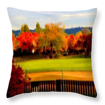 Beaverton H.s. 2 Throw Pillow