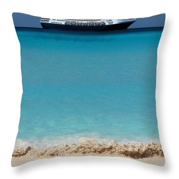 Beckoning Throw Pillow by Karen Wiles