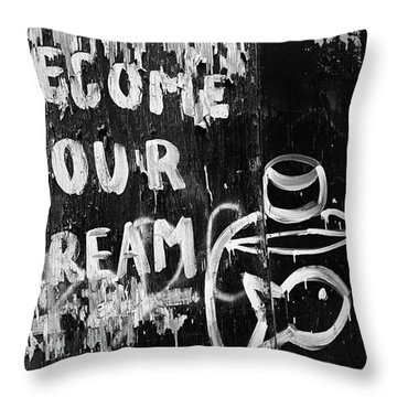 Become Your Dream 1995h Throw Pillow