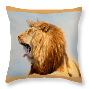Bed Head - Lion Throw Pillow