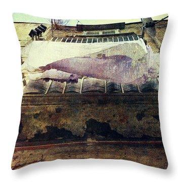 Bedclothes Throw Pillow