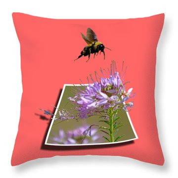 Bee Free Throw Pillow