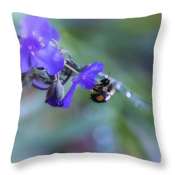 Bee Harmony Throw Pillow