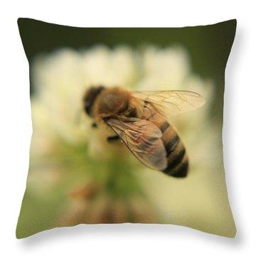 Bee Lives Matter Throw Pillow