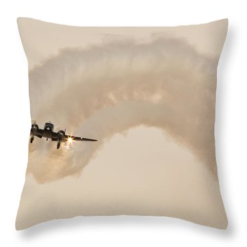 Beech 18 Throw Pillow