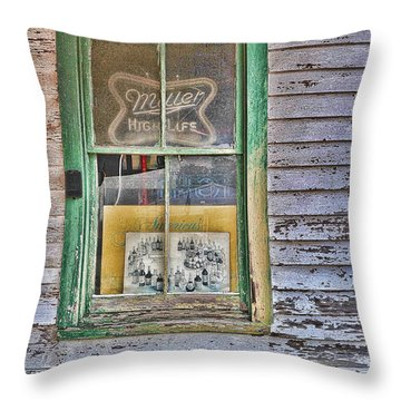 Beer And Fine Liqueurs Throw Pillow