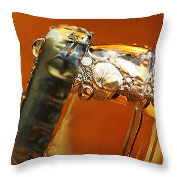 Beer Top Throw Pillow