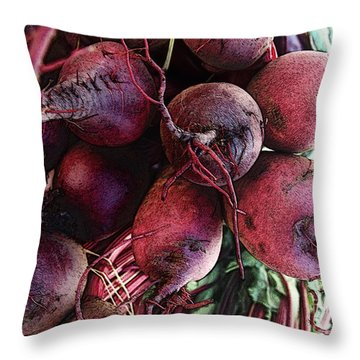 Beets Throw Pillow