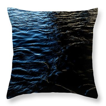 Throw Pillow featuring the photograph Befallen by Eric Christopher Jackson